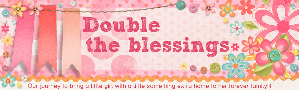 Double the Blessings....