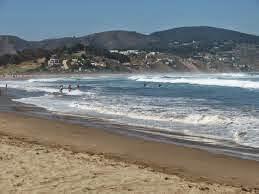 La hermosa playa de Cachagua