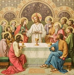 True Food + True Drink = The Holy Eucharist!