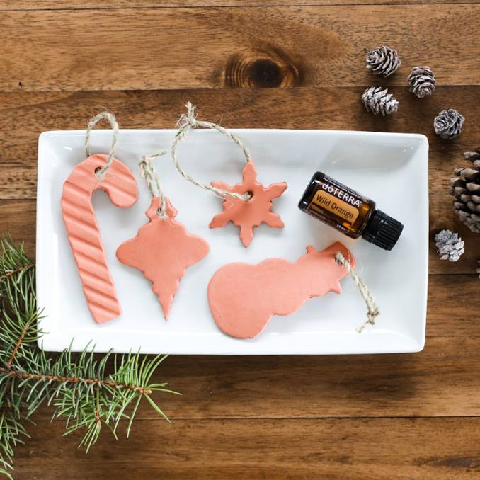 This is the perfect quick-and-easy Christmas craft for all ages. These homemade clay ornaments diffuse your favorite essential oils and make a great gift ...