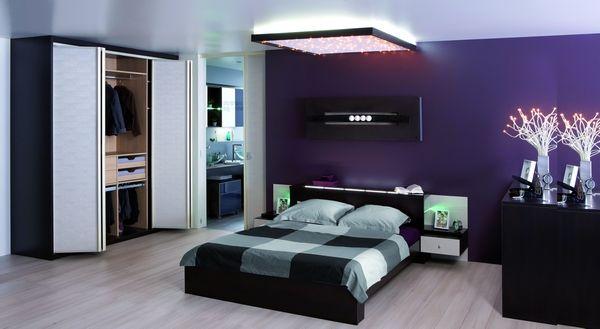 foto colori camere letto - imbianchino foto - | imbianchino roma ... - Camera Da Letto Blu Notte