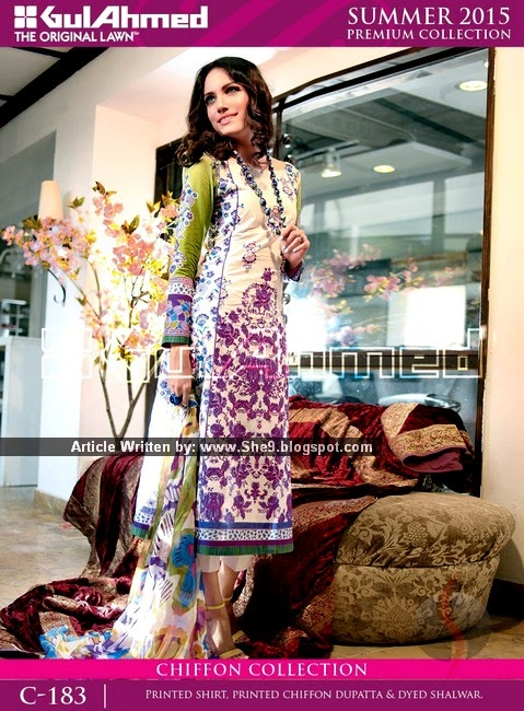 Gul Ahmed Summer 2015 Vol-1 Magazine