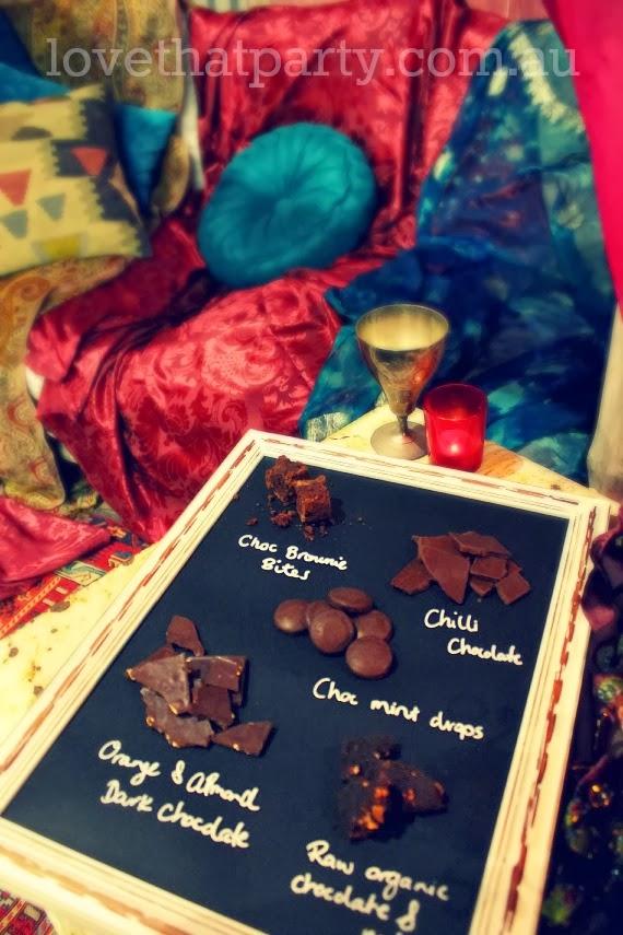 DIY Valentine's Chocolate Tasting Platter - www.lovethatparty.com.au