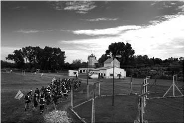 Maratón en la carcel de La Plata 2009