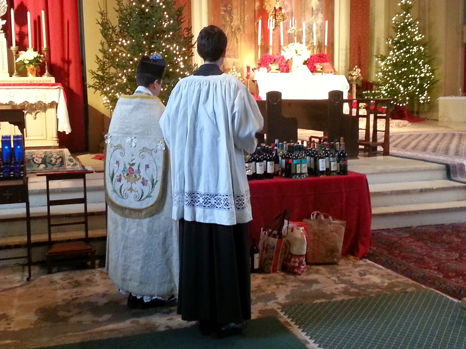 Blessing of Wine for Feast of St. John