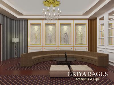 Desain Interior Ruang Karaoke Keluarga di Godean Yogyakarta Gambar 3