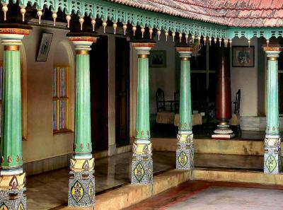 Architecture of ancient india chettinad homes for Verandah designs in india