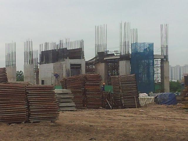 Tiến độ xây dựng dự án Eco Green City