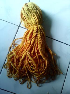 Tali Peluit Pramuka Warna Kuning