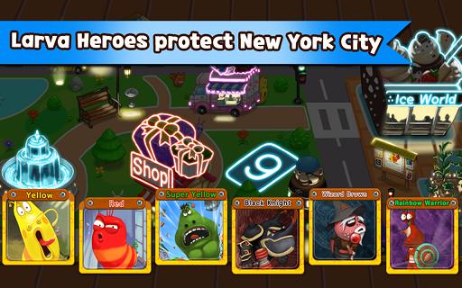 Larva Heroes Lavengers apk game