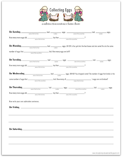 Animals That Lay Eggs Worksheet http://deceptivelyeducational.blogspot ...
