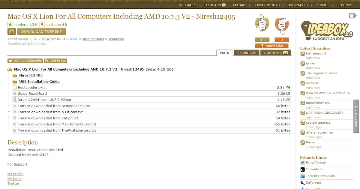 Mac os lion 10.7 3 client vmware image