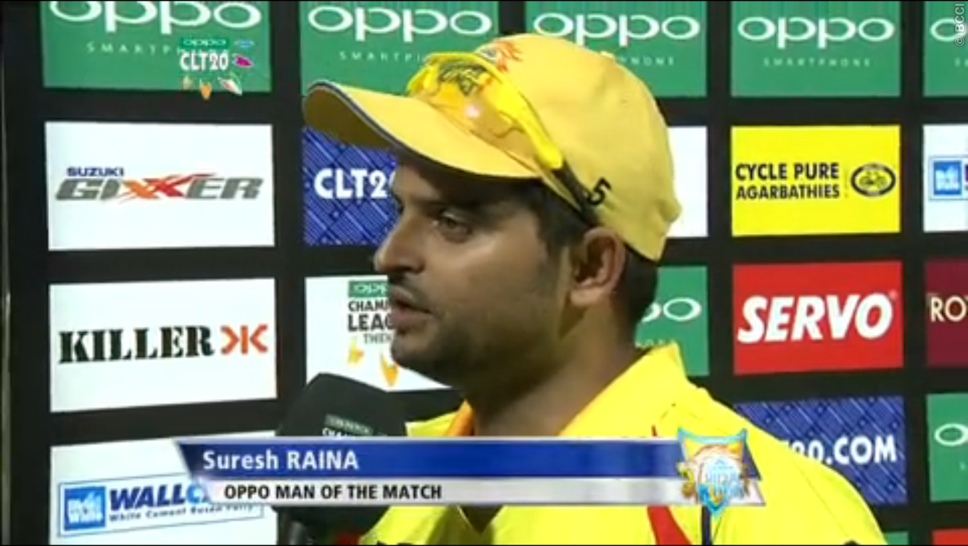 Suresh-Raina-DOLPHINS-V-CHENNAI-SUPER-KINGS-CLT20-2014