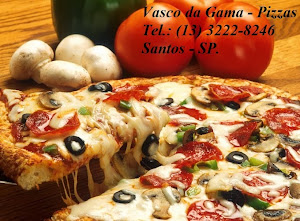 Pizzaria Vasco da Gama - Santos/SP.