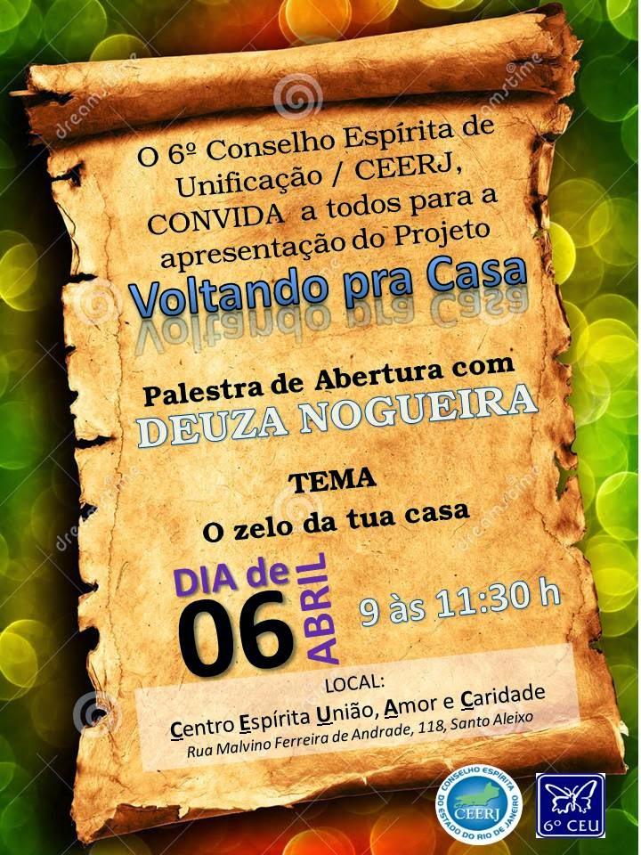 Público Alvo: Diretores e trabalhadores das Instituições Espírita de Magé e Guapimirim