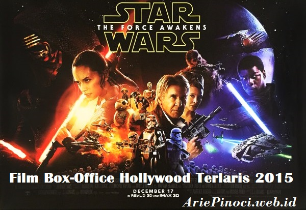 Star Wars: The Force Awakens Film Terlaris 2015