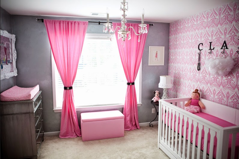 Baby Room Themes For Girls Girl Nursery Decorating Ideas
