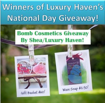 shea bomb cosmetics giveaway