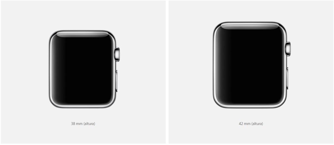 Apple Watch - Tamanhos