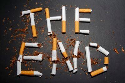 Como não se tornar gordo quando deixado fumando