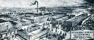 Old McLaughlin Buick factory, Oshawa. Source: OurOntario.ca