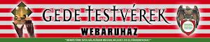 Gede Testvérek Webáruház