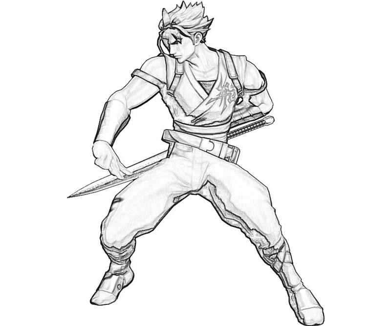 printable-marvel-vs-capcom-strider-characters_coloring-pages