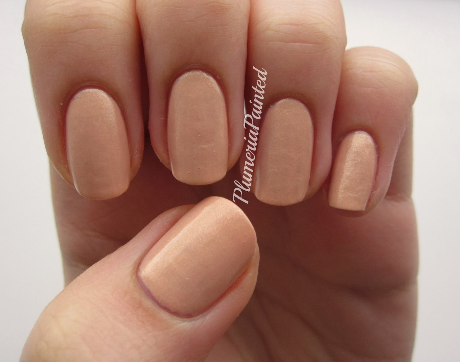 PlumeriaPainted: Nude Nails: M&S - Sun Glow