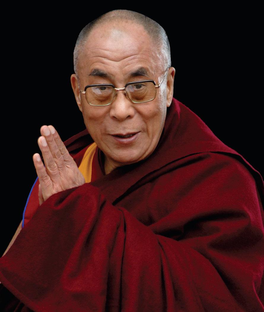 Ven. Dalai Lama - GS Hoang Phong Nguyễn Đức Tiến