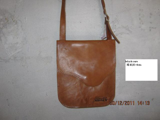 bolsa de couro MArajo R$ 30,00