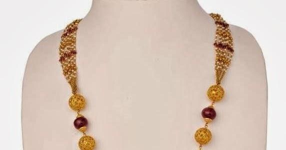 Traditional Beads Haram Latest Jewellery Designs