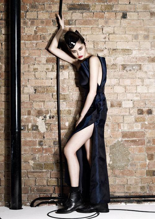 Shanghai Supermodel Ming Xi