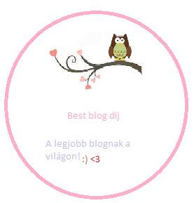 2. blogdíjam :)