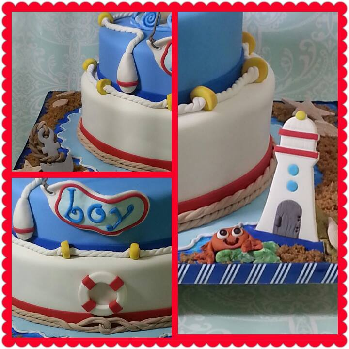 cakes by gleibis nautical baby shower