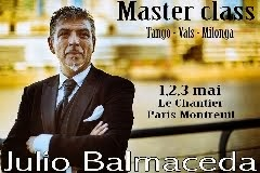 Cours de danse de Julio Balmaceda à Paris
