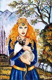 Este blog tem a benção de Freyja - Deusa Nórdica Tríplice, de grande beleza, força e poder