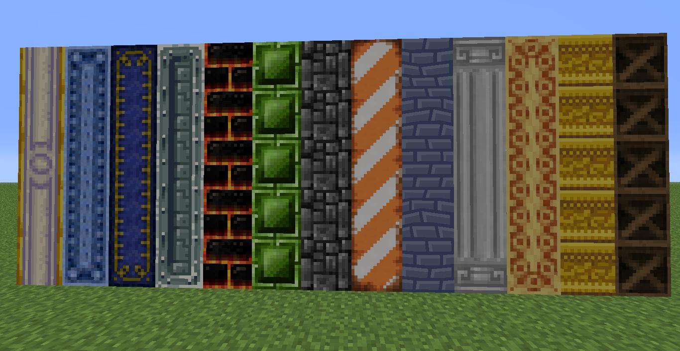 Minecraft en txt chisel mod de construcci n para for Bloques decorativos
