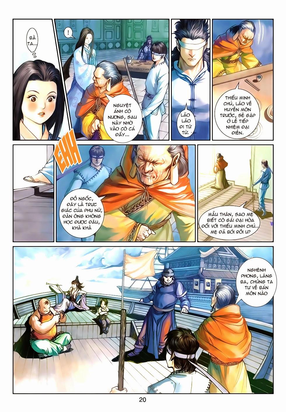 Thần Binh Tiền Truyện 4 - Huyền Thiên Tà Đế chap 9 - Trang 20