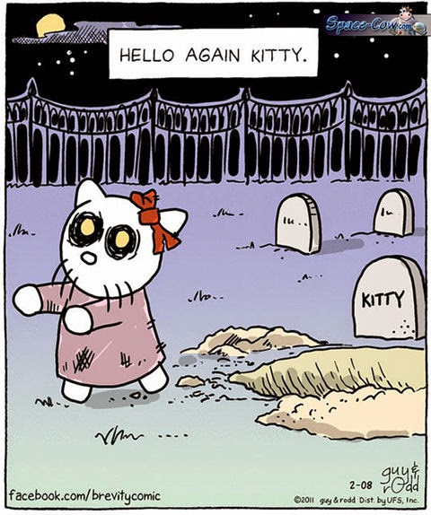 funny Hello Kitty comics
