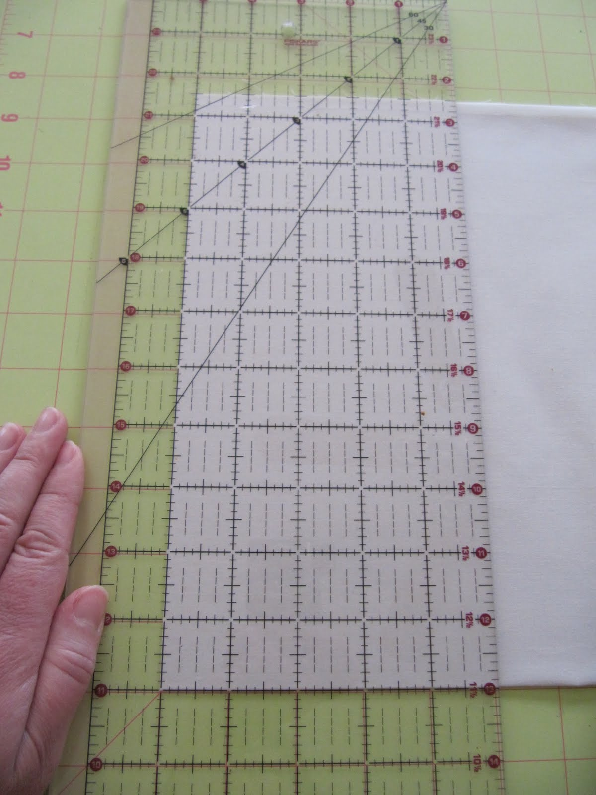 Sew Many Ways...: How to Cut Fabric Squares with a Rotary Cutter... : cutting quilt squares - Adamdwight.com