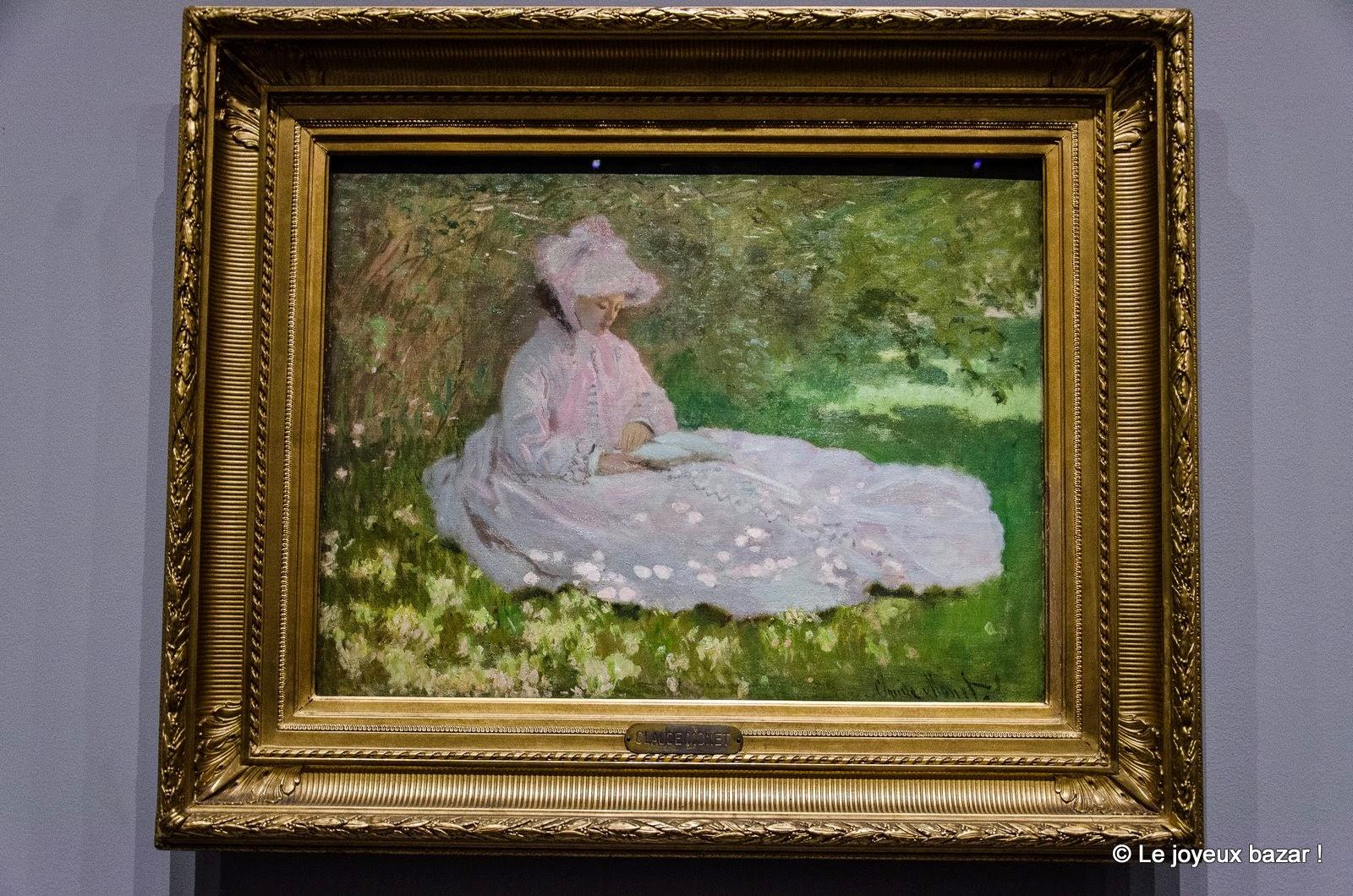Claude Monet, La Liseuse, 1872, Huile sur toile, 50 x 65 cm, Baltimore, The Walters Art Museum