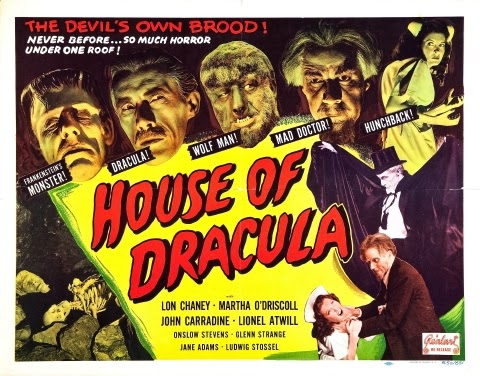 Poster - House of Dracula (1945)