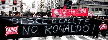 Não vai haver copa -movimentos de rua Brasil