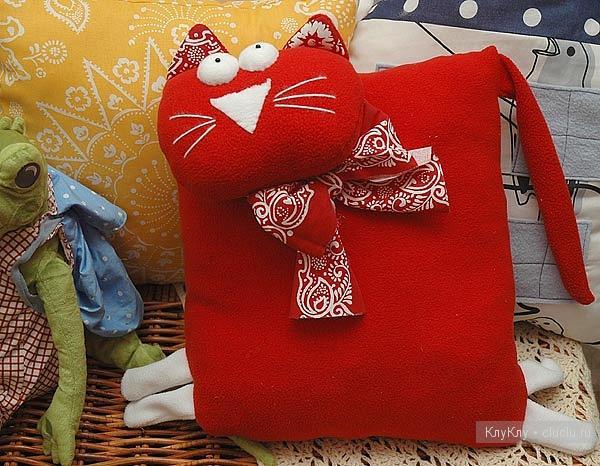 Декоративные игрушки подушки своими руками