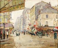 JOSEP AMAT Rue Grenell, París c. 1935