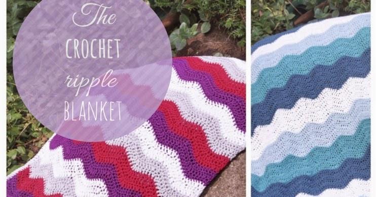 zaubercraft: The Crochet Ripple Blanket - Ein Tutorial