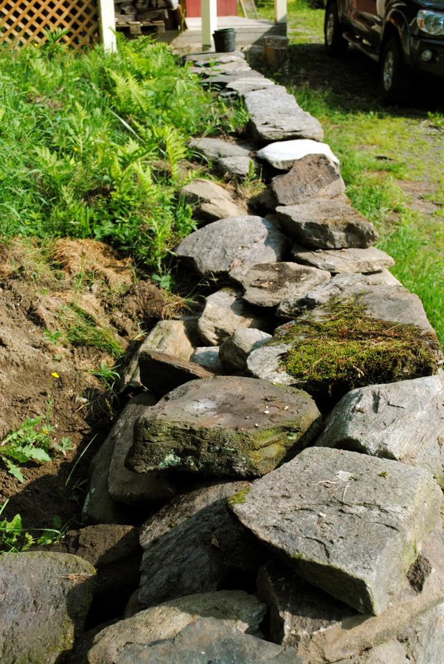 Murphy Beds Little Rock : The little dog rock wall update