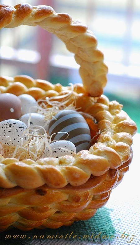 Braided Bread Dough Basket