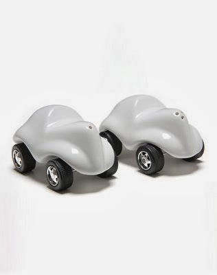 Designs Salt And Pepper Shakers On Wheels