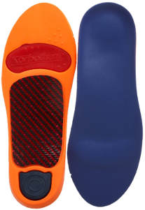 Sorbothane Ultra Graphite Arch Insoles Best Running Inserts